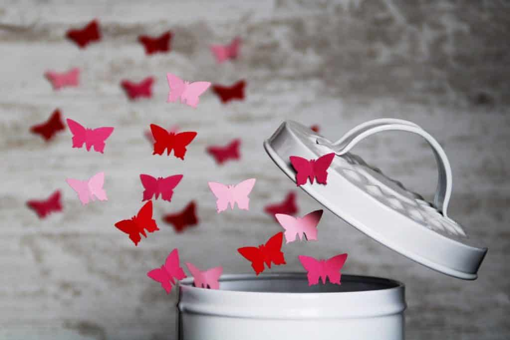 Butterfly Paper Flying Box Lid  - Kranich17 / Pixabay